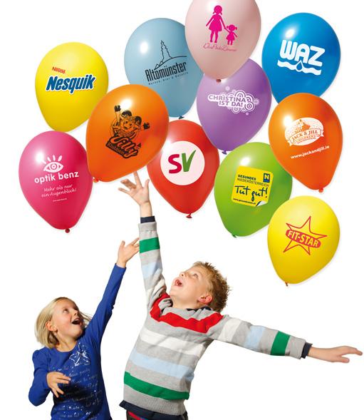 Luftballons preiswert bedrucken for Luftballons duisburg